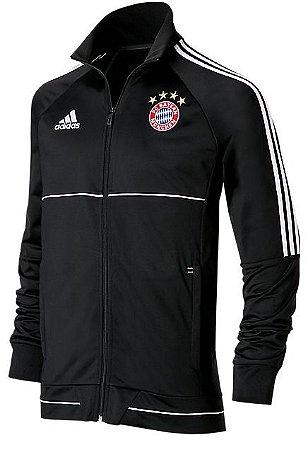 Jaqueta oficial Adidas Bayern de Munique 2017 2018 Preta