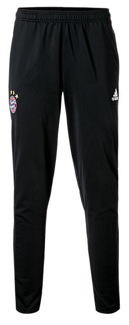Calça oficial Adidas Bayern de Munique 2017 2018 Preta