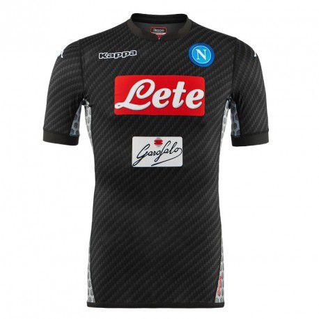 Camisa oficial Kappa Napoli 2017 2018 IIII jogador