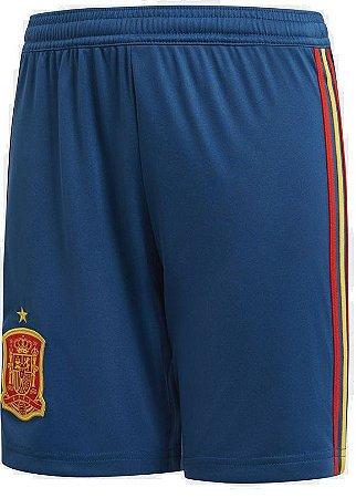 Calção oficial Adidas seleção da Espanha 2018 I jogador