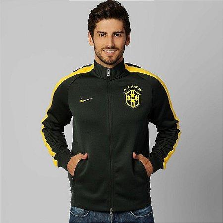 Jaqueta oficial nike seleção brasileira 2014