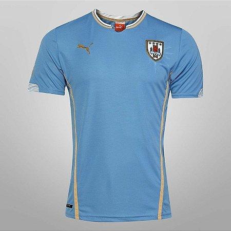 camisa oficial Puma seleção do Uruguai 2014 I jogador