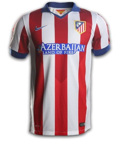 Camisa oficial Atlético de Madrid 2014 2015 I jogador