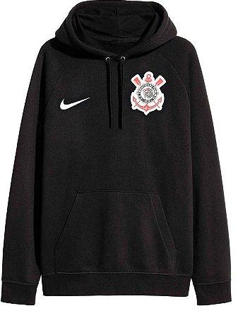 Jaqueta de moletom oficial Nike Corinthians 2017 Preta