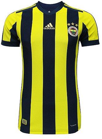 Camisa oficial Adidas Fenerbahçe 2017 2018 I jogador