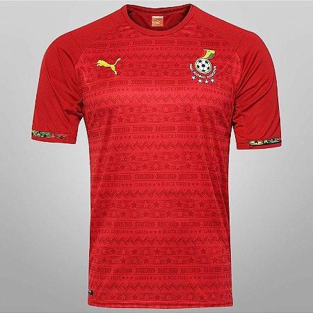 Camisa oficial Puma seleção de Gana II jogador