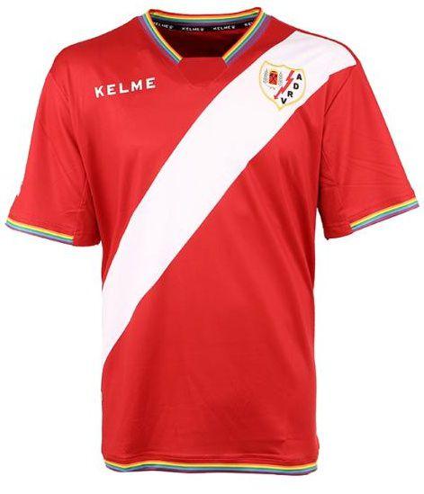 Camisa oficial Kelme Rayo Vallecano 2017 2018 II jogador