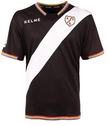 Camisa oficial Kelme Rayo Vallecano 2017 2018 III jogador