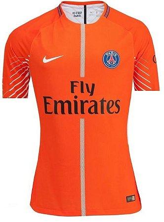 Camisa oficial Nike PSG 2017 2018 II goleiro