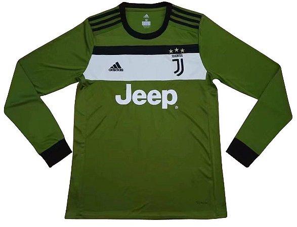 Camisa oficial Adidas Juventus 2017 2018 III jogador manga comprida