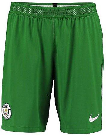 Calção oficial Nike Manchester City 2017 2018 I goleiro