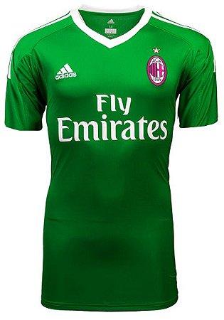 Camisa oficial Adidas Milan 2017 2018 I goleiro
