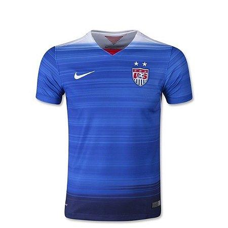 Camisa oficial Nike seleção dos Estados Unidos 2015 II jogador