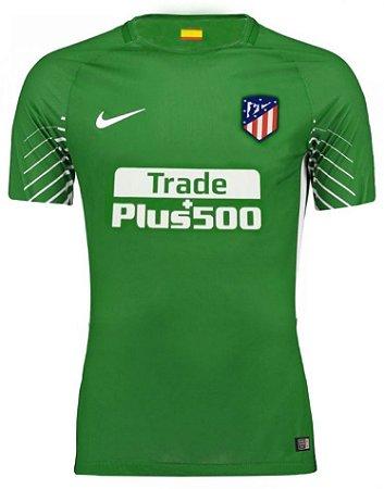 Camisa oficial Nike Atletico de Madrid 2017 2018 I goleiro
