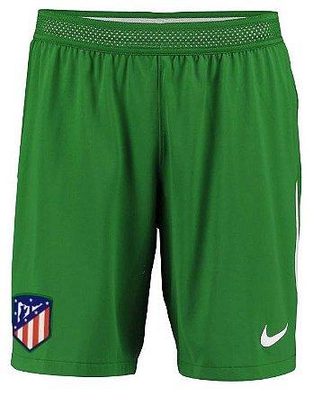 Calção oficial Nike Atletico de Madrid 2017 2018 I goleiro