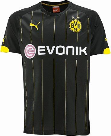 Camisa oficial Puma Borússia Dortmund 2014 2015 II jogador