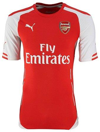 Camisa oficial Puma Arsenal 2014 2015 I Jogador