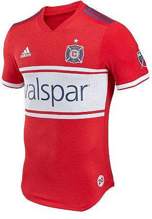 Camisa oficial Adidas Chicago Fire 2018 I jogador