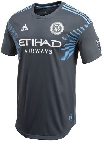 Camisa oficial Adidas New York City FC 2018 II jogador