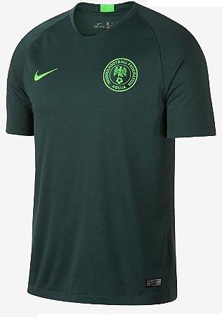 Camisa oficial Nike seleção da Nigéria 2018 II jogador