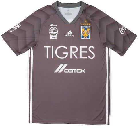 Camisa oficial Adidas Tigres UANL 2018 III jogador