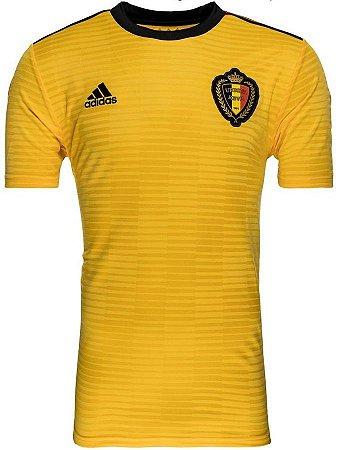 Camisa oficial Adidas seleção da Bélgica 2018 II jogador