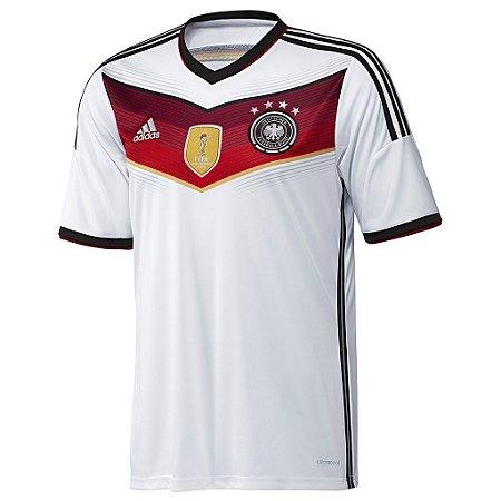 Camisa oficial Adidas seleção da Alemanha 2014 I jogador  4 ESTRELAS