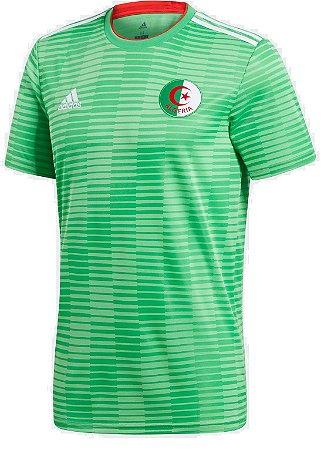 Camisa oficial Adidas seleção da Argélia 2018 II jogador
