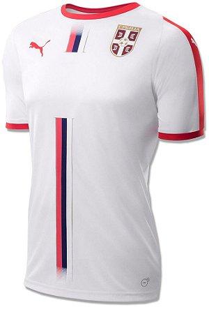 Camisa oficial Puma seleção da Servia 2018 II jogador