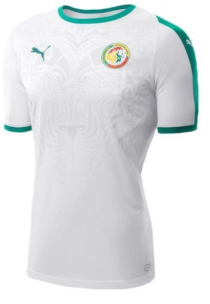 Camisa oficial Puma seleção do Senegal 2018 I jogador