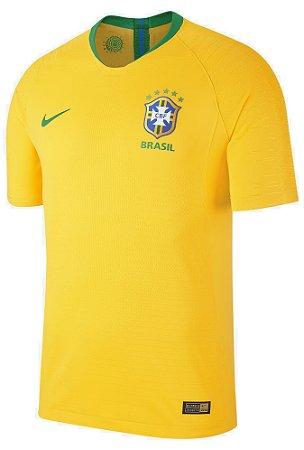Camisa oficial Nike seleção do Brasil 2018 I jogador