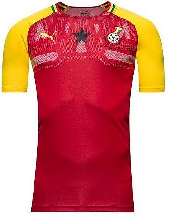 Camisa oficial Puma seleção de Gana 2018 I jogador