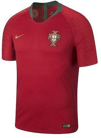 Camisa oficial Nike seleção de Portugal 2018 I jogador