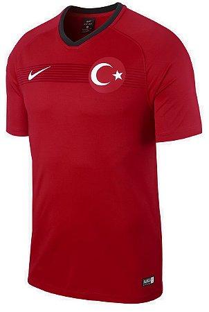 Camisa oficial Nike seleção da Turquia 2018 I jogador