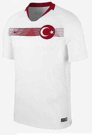 Camisa oficial Nike seleção da Turquia 2018 II jogador