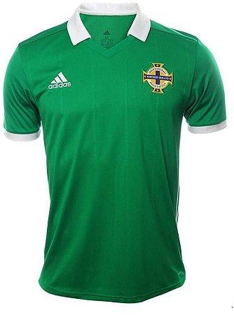Camisa oficial Adidas seleção da Irlanda do Norte 2018 I jogador