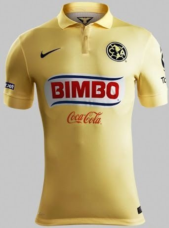 Camisa oficial Nike América do México 2014 2015 I jogador