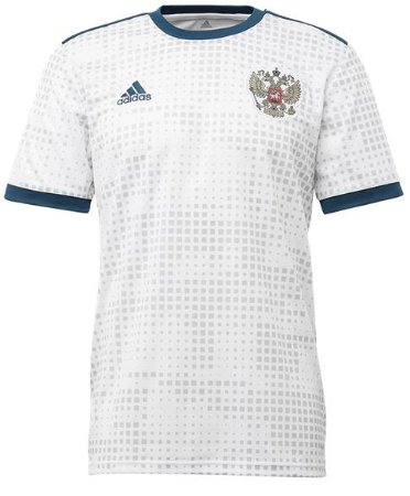 Camisa oficial Adidas seleção da Rússia 2018 II jogador