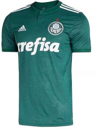 Camisa oficial Adidas Palmeiras 2018 I jogador