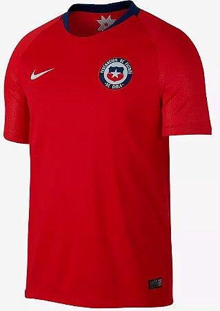 Camisa oficial Nike seleção do Chile 2018 I jogador