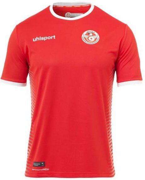 Camisa oficial Uhlsport seleção da Tunisia 2018 II jogador