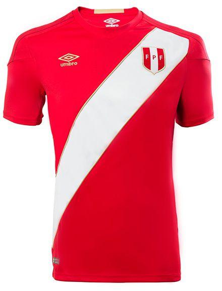 Camisa oficial Umbro seleção do Peru 2018 II jogador
