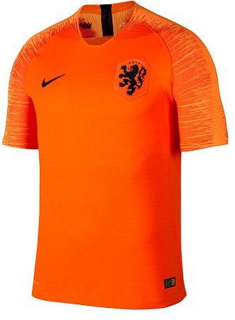 Camisa oficial Nike seleção da Holanda 2018 I jogador