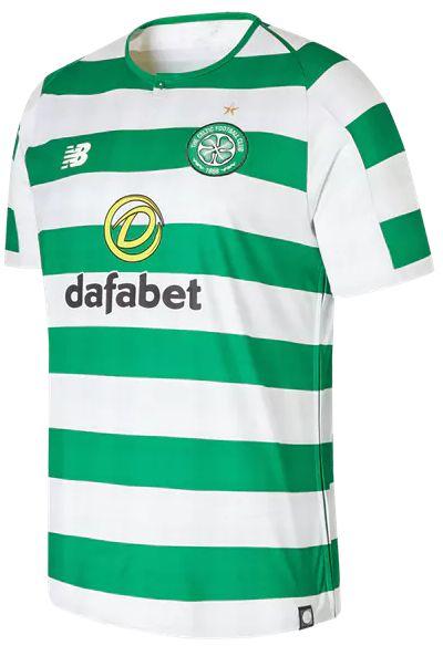 Camisa oficial New Balance Celtic 2018 2019 I jogador