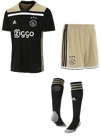 Kit adulto oficial Adidas Ajax 2018 2019 II jogador
