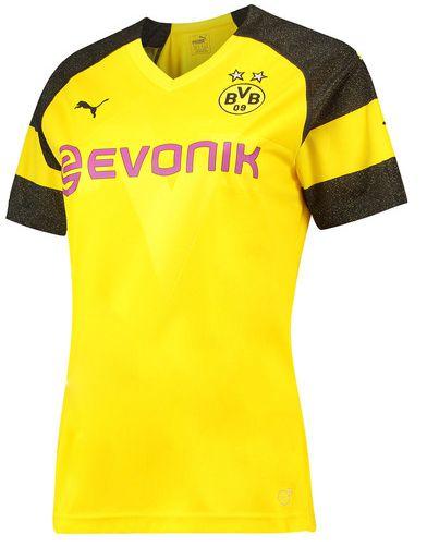 Camisa feminina oficial Puma Borussia Dortmund 2018 2019 I