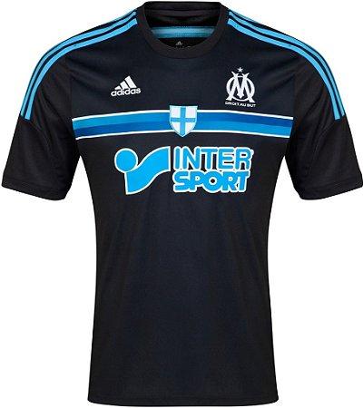 Camisa oficial Adidas Olympique de Marselha 2014 2015 III jogador