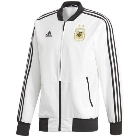 Jaqueta oficial Adidas seleção da Argentina 2018 Branca