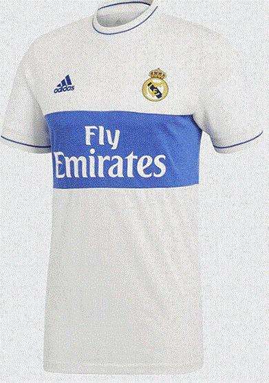 Camisa oficial Adidas Real Madrid 2017 2018 Icon