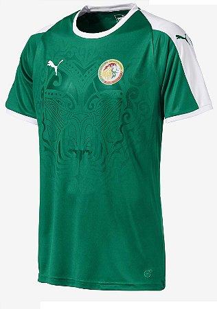 Camisa oficial Puma seleção do Senegal 2018 II jogador